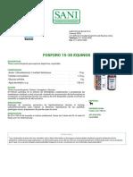 FOSFORO 15-30 EQUINOS- Laboratorios Burnet S.a.- Sani.com.Ar - Productos Veterinarios