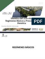 Clase Dietetica Regimenes Basicos 201920