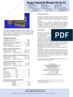 Kaolite 2200 m Data Sheet Spanish