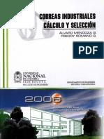 CORREAS INDUSTRIALES CALCULO Y SELECCION