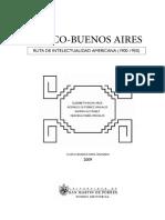 Varios - Cuzco Buenos Aires - Ruta de Intelectualidad Americana (1900-1950)