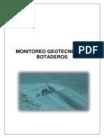 Monitoreo Geotecnico.