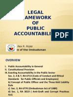 Legal Framework of Public Accountability