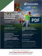 Afiche Curso de Promoción de La Salud - OTEC Innovares