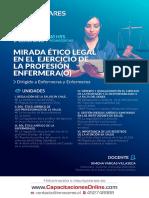 Curso E Learning Mirada Ético Legal en El Ejercicio de La Profesión Enfermera(o) - OTEC Innovares
