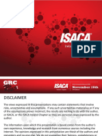 ISACA Risk Management