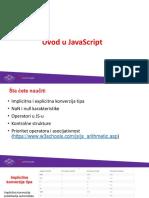 JavaScript Uvod Petlje 7n3a