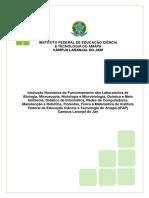 Instruo Normativa-Regulamento Do Uso Dos Laboratrios