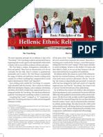 Basic Principles of the Hellenic Ethnic Religion