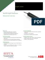 Sensor Oxigeno Disuelto Optico DS_ADS430-En_C
