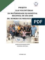 Projeto Doula Voluntária Hrsj 2018
