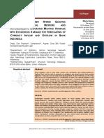 Comparison Between Hybrid QRNN and ARIMAX