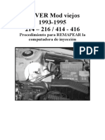 Desinmovilizar ROVER 214