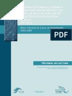 ANTOLOGIA  Elementos para el diseño de proyectos para la actualización de maestros.pdf
