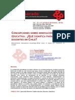 Concepciones sobre innovación educativa ¿Qué significa para los docentes en Chile.pdf