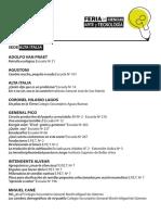 Acyt-trabajos Instancia Provincial 2019