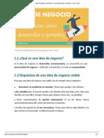 Idea de Negocio_ Definición, Como Desarrollarla y Ejemplos - Ana Trenza