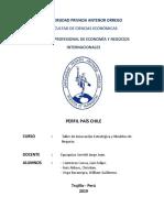 "Perfil Pais Chile – Taller de Innovación Estratégica y Modelos de Negocio"""