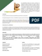 Los Carbohidratos Proteinas y Lipidos