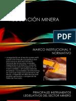 Regulación minera