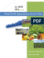 Vision 2030 Jamaica - Final Draft Agriculture Sector Plan (September 2009)