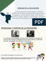 Filosofia Ciencias de La Educacion