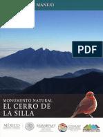 Programa de Manejo_Monumento Natural_Cerro de La Silla