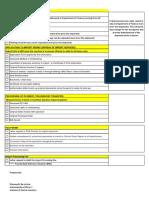 Importation Requirements Checklist