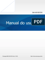 Manual do SAMSUNG A9