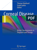Corneal Disease - Recent Developments in Diagnosis and Therapy