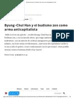 BYUNG CHUN HAN EL BUDISMO ZEN