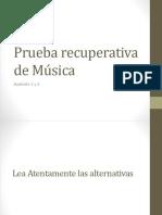 Prueba de Música  N°2.pptx
