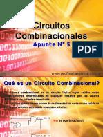 Técnicas Digitales Apunte 5 - Circuitos Combinacionales