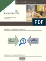 Legislación Profesional. Ciclo 02-2019