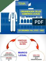 TEMA IV ORGANIZACION DE LOS GOBIERNOS LOCALES.pptx