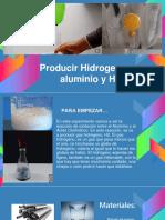 Producir Hidrogeno Con Aluminio y HCL