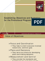 Chap07 Establishing Objectives and Budgeting for the Promotional Program