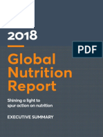 2018 Global Nutrition Report Executive Summary