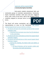 Original policy on how the public can be a part of the CMS Community Equity Committee
