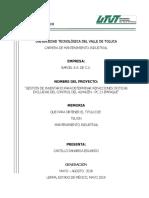 Método ABC para refacciones maquinadas