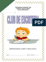 Club Escritura Primaria.docx · Versión 1