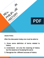Introduction to Readings in Philippine History