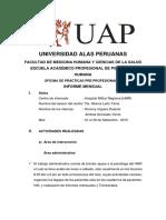 MODELO DE INFORMES PSICOLOGICO
