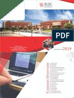 JU Prospectus 2019-20