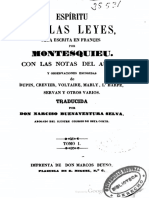 Montesquieu - Espiritu de Las Leyes