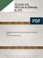 Psicologia Del Deporte en Alemania, Brasil,