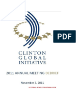 368. Clintons Global Initiative 2011