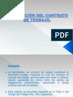 03.- Termino de Contrato