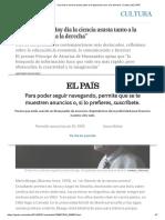 """Mario Bunge_ """"Hoy Día La Ciencia Asusta Tanto a La Izquierda Como a La Derecha"""" _ Cultura _ EL PAÍS"""