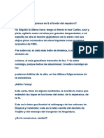 Carta Mas Importante de Simon Bolivar